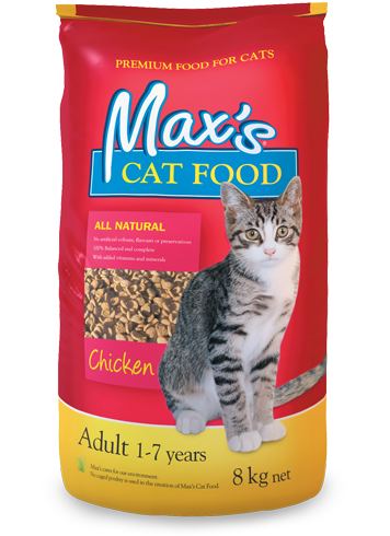 Max's Cat Food: Chicken
